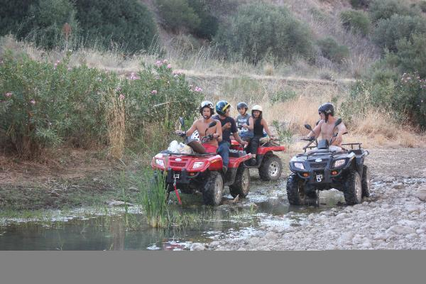 quad excursions in the Madonie mountains